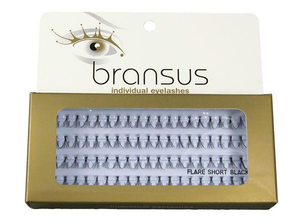 Rzęsy naturalne w kępkach Bransus - 3 długoœci